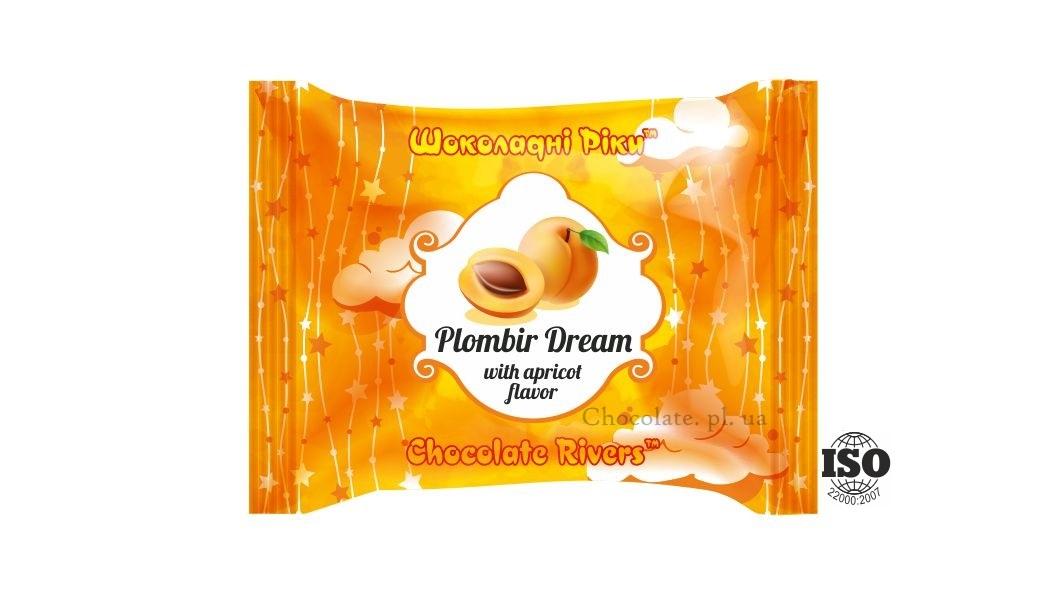 Пломбир Мечта со вкусом абрикоса (флоу-пак)