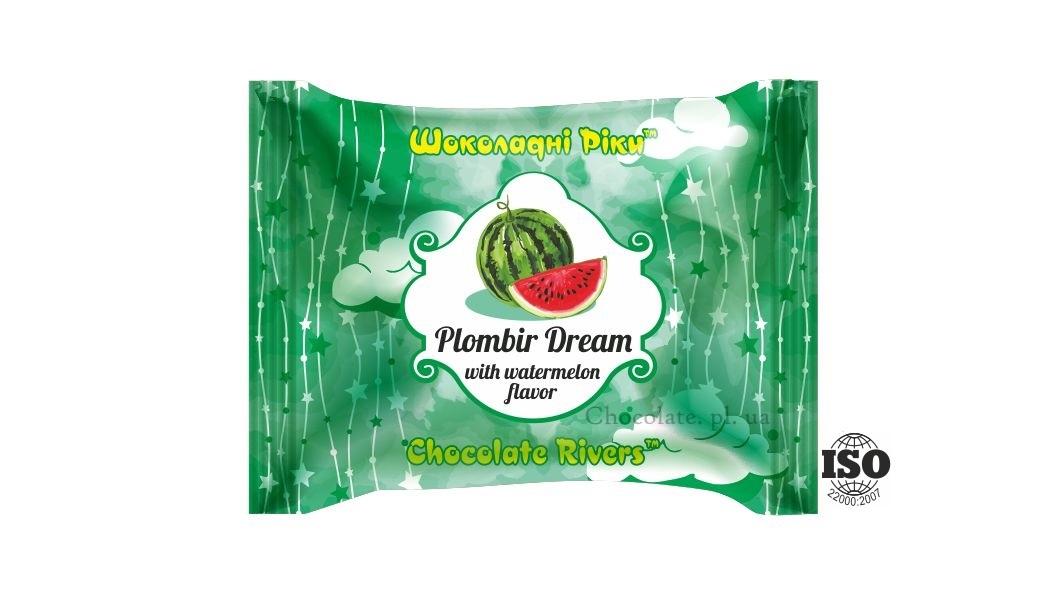 Пломбир Мечта со вкусом арбуза (флоу-пак)