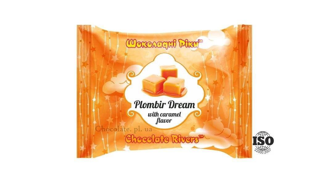 Пломбир Мечта со вкусом карамели (флоу-пак)
