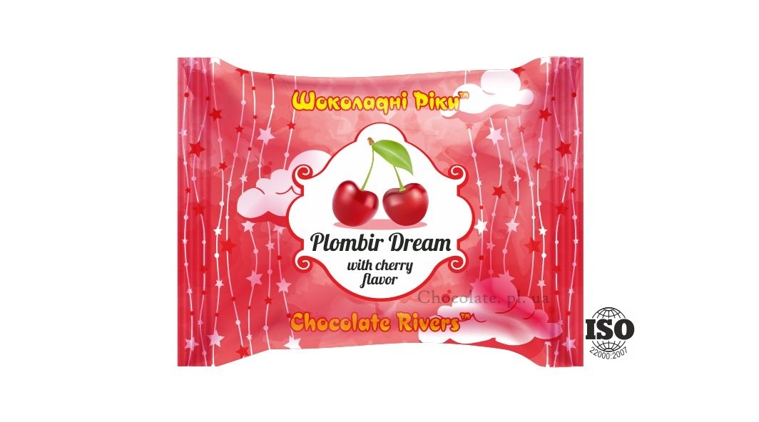 Пломбир Мечта со вкусом вишни (флоу-пак)